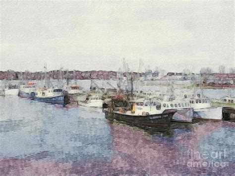 Fishing Boats For Sale Portsmouth by Fishing Boats Of Portsmouth Nh Photograph By Marcia Jones