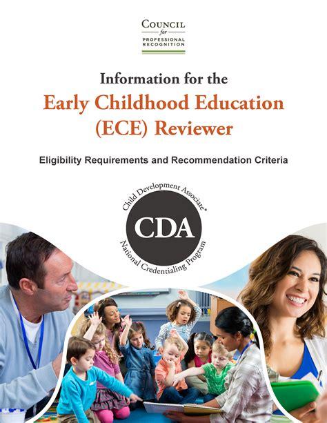 cda for preschool teachers renew cda council for professional recognition 254