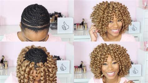 Watch Me Crochet Braid My Hair|chimerenicole