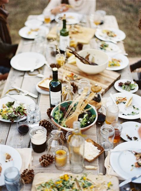 Celebrate Autumn Dinner by The Best Fall Tablescape Ideas For Autumn Social
