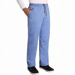 Grey's Anatomy Men's Full Elastic Waist Scrub Pant