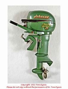 Old Antique Toys  A K  U0026 O Johnson Outboard Motor