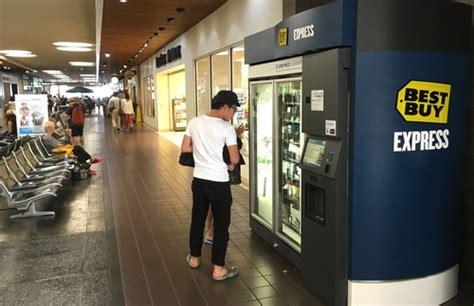 Best Buy Airport Vending Machines