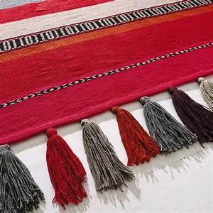Kinderteppich 160 X 230 : tapis tress rayures en coton multicolore 160 x 230 cm jaffar maisons du monde ~ Watch28wear.com Haus und Dekorationen