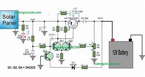 This Low Drop Solar Charger Controller Circuit Using