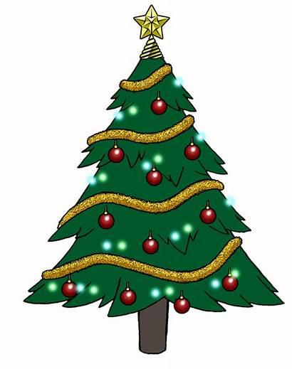 Tree Christmas Cartoon Animated Bennythebeast Trees Deviantart