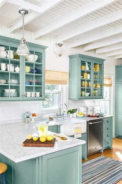 fun kitchen cabinet colors 80 cool kitchen cabinet paint color ideas