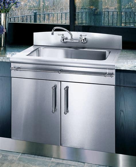 Kitchen Sinks With Backsplash by Elkay 3626egsbnb2 36 Inch Flushmount Single Bowl Stainless