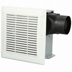 Nutone Invent White 110 Cfm Ceiling Single Speed Exhaust