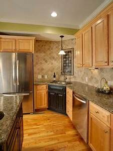 Kitchen on Pinterest Maple Cabinets, Small Home Bars and
