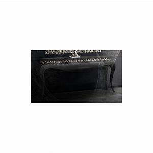 Console Baroque Noire : console baroque de luxe noire black et miroir meuble d 39 entr e ~ Teatrodelosmanantiales.com Idées de Décoration