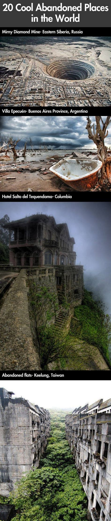 28 Of The Coolest Abandoned Places In The World Therackup