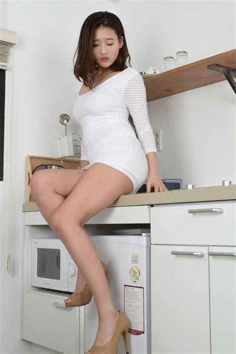 japan Av League 【makemodel】sejin No002 白色連身短裙透視內褲