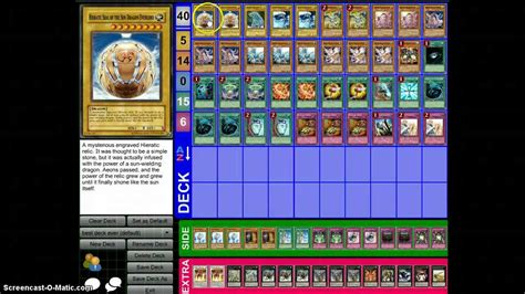 hieratic trident dragon otk deck list youtube