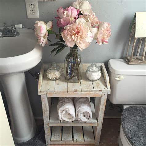 shabby chic decor uk 15 lovely shabby chic bathroom decor ideas chuckiesblog