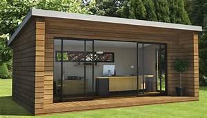 bureau de jardin un concept de bureau original With bureau de jardin en bois