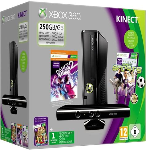 e xbox games xbox 360 250gb kinect console bundle 2012 3 pal aus brand new ebay