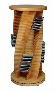 Cd Rack Holz : edle cd s ule cd rack aus holz buche spiralform cropack onlineshop ~ Markanthonyermac.com Haus und Dekorationen