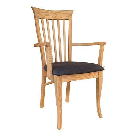 clearance classic shaker oak dining chair   vt