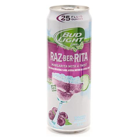bud light lime a rita case price bud light lime raz ber rita 25oz can beer