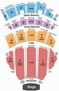 At T Center Seating Chart Shea S Performing Arts Seating Chart With Seat Numbers