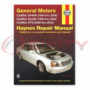 Cadillac Deville Haynes Repair Manual Base D U0026 39 Elegance Dhs