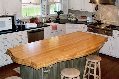 countertops for kitchen islands maple wood countertop photo gallery by devos custom