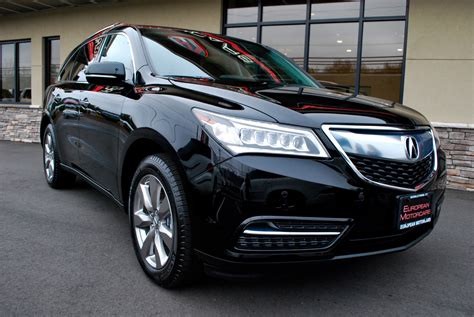 2014 Acura Mdx Sh-awd W/advance And Rear Entertainment For