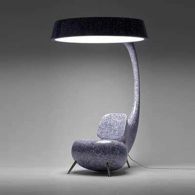 Hybrid Lamp Chairs : multifunctional furniture