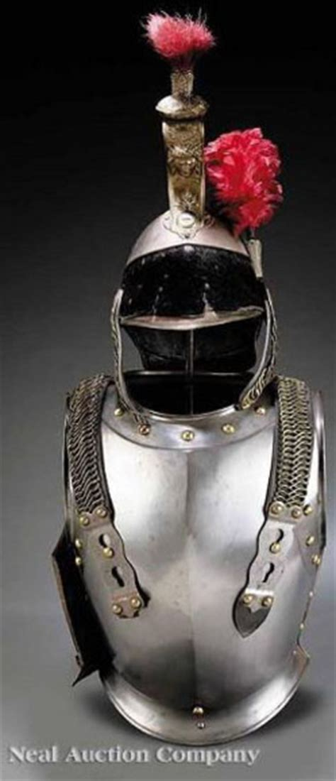 armor suit french cuirassier parade dress cuirass
