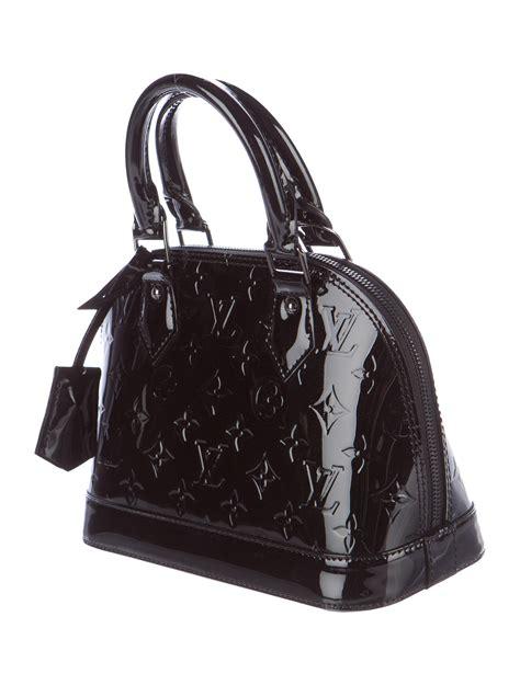 louis vuitton monogram vernis alma bb handbags