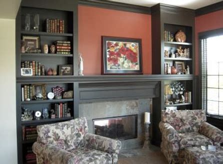 Built In Bookcase Around Fireplace by Indianapolis Custom Bookcases And Bookshelves Innovative