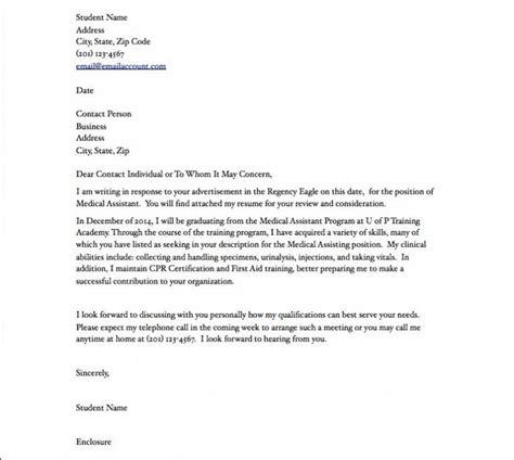 medical assistant resume cover letter medical assistant