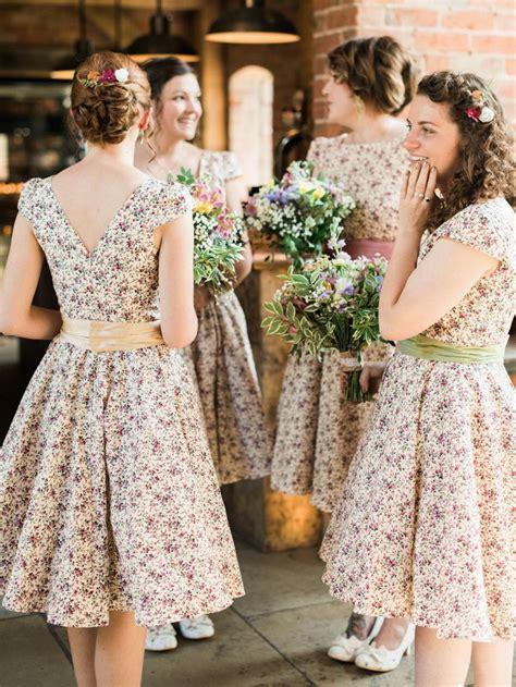 Best 25 Floral Bridesmaid Dresses Ideas On Pinterest