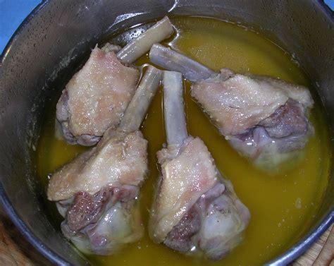 cuisiner des manchons de canard fraise de veau