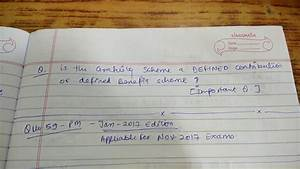 Accounting Standard 15  As 15  Past Year Questions Ca