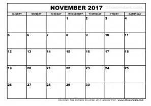 Record Template In Excel November 2017 Calendar Printable Calendar Templates
