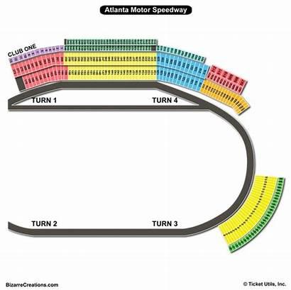 Speedway Seating Atlanta Chart Motor Ga Hampton