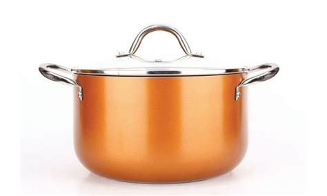 5827 copper luxury cookware 38 on copper luxury cookware pan set livingsocial shop