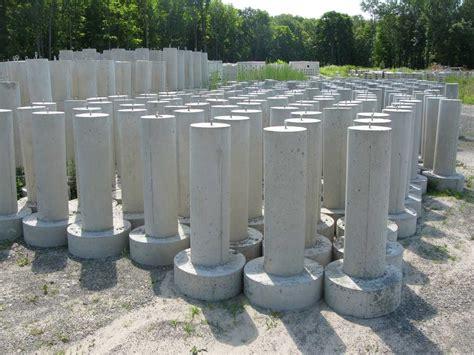 Precast Concrete Deck Footings by Products Peenpack Inc