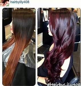 Love the cherry cola hair color | Capelli | Pinterest ...
