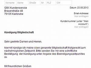 Wohnung Kündigen Per Email : gmx topmail k ndigen vorlage download chip ~ Lizthompson.info Haus und Dekorationen