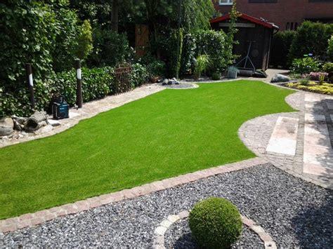 Kunstrasen Im Garten  Teil 1