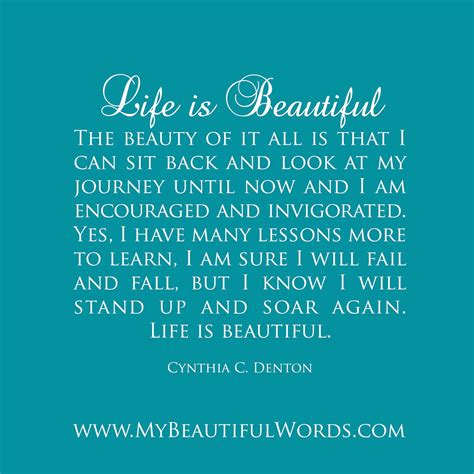 Here i'm sharing beautiful quotes about life with images. My Life Is Beautiful Quotes. QuotesGram