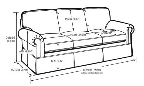 length of loveseat sofa measurements sofa dimensions thesofa