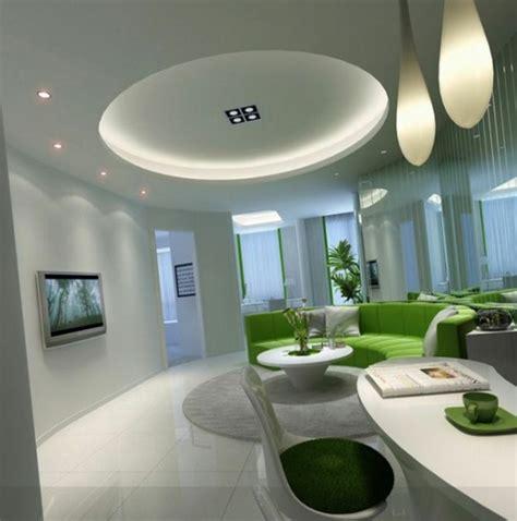 Décoration De Salon Moderne En Vert Et Gris  20 Exemples