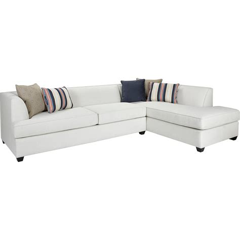 Broyhill Furniture Farida 2 Piece Sectional Sofa With Raf