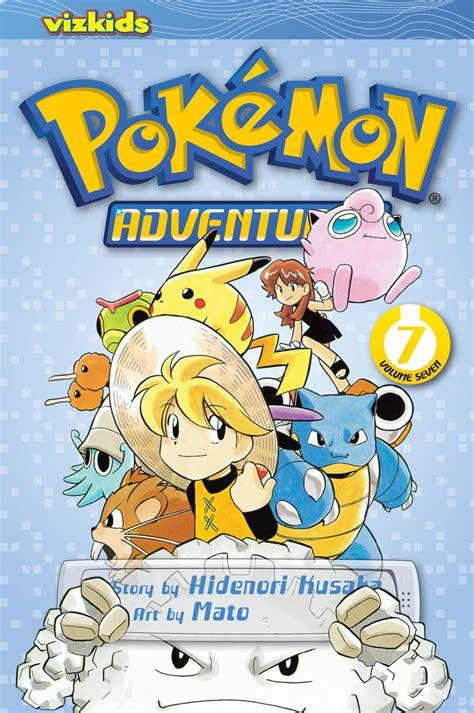 pokemon adventures red  blue vol  book