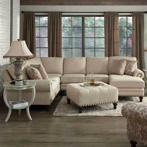 england amix  seat sectional   chaise dunk