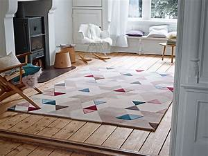 tapis beige moderne pour salon imagination esprit home With tapis de salon moderne